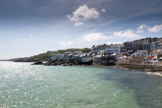 Buildings By The Cornish Sea
