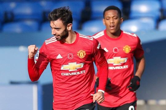 Bruno Fernandes and Man Utd are still without a home win in the Premier League so far this season