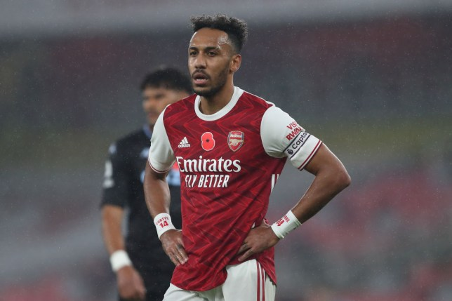 Pierre-Emerick Aubameyang has struggled for goals so far this season