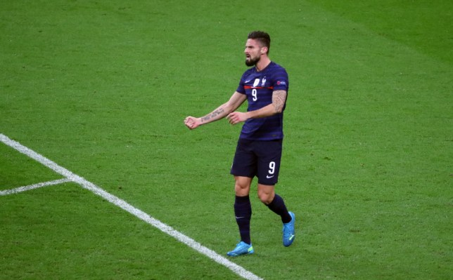Giroud netted yet again for France