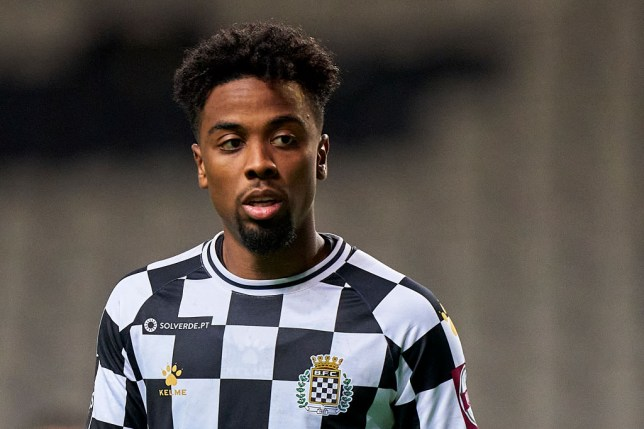 Angel Gomes is currently spending the season on loan with Boavista