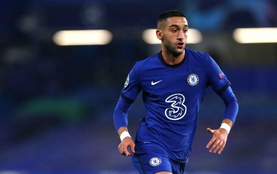 Hakim Ziyech's form has been key to Chelsea's recent improvement
