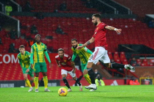 Fernandes' penalty was the difference for United