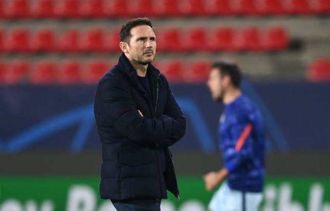 Lampard's side are third in the table after nine games