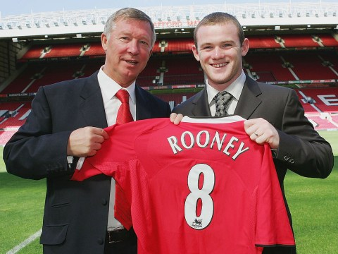 Wayne Rooney reveals he wanted to impress Roy Keane and Ryan Giggs more than Sir Alex Ferguson