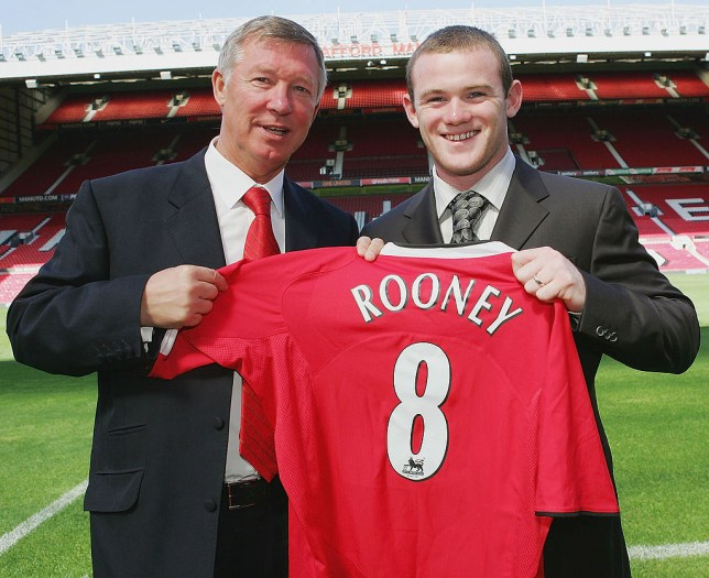 Wayne Rooney joined Manchester United in a £27m deal in 2004