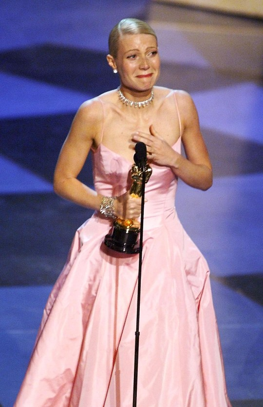 Gwyneth Paltrow wins best actress Oscar for Shakespeare in Love in 1999.