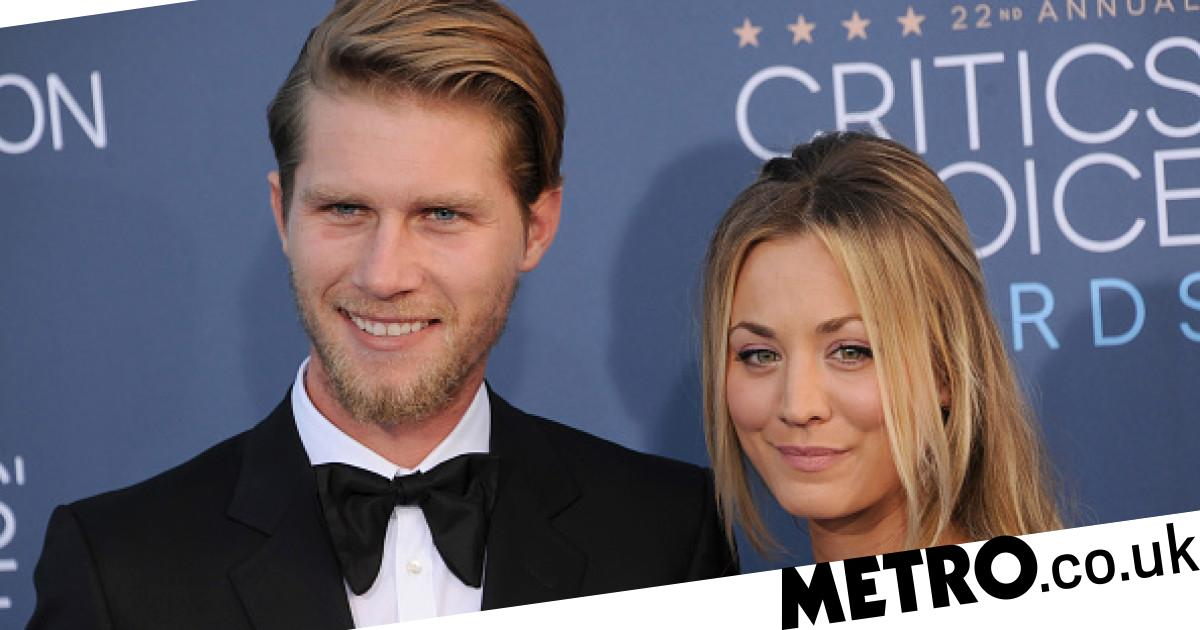 Kaley Cuoco and husband Karl Cook pay tribute as rescue dog dies