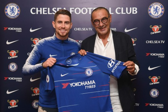 Chelsea Unveil New Signing Jorginho...
