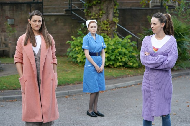 Sienna, Liberty and Nico in Hollyoaks