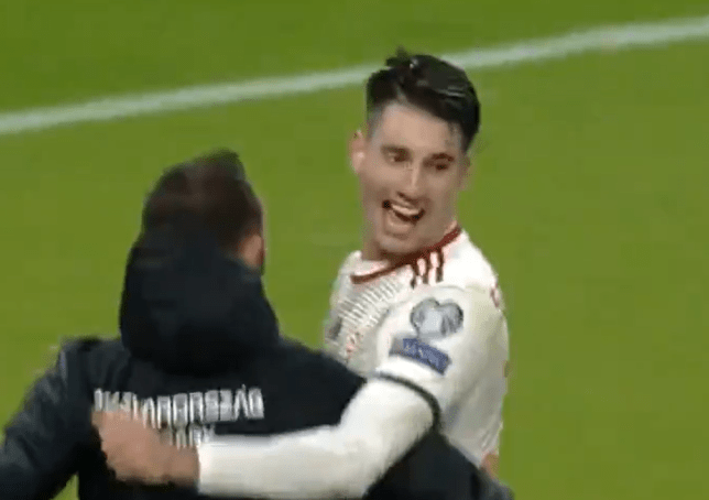 Dominik Szoboszlai booked Hungary's place at the Euros with a stunning individual goal