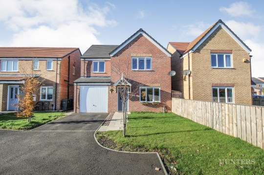 four-bedroom home in south shields