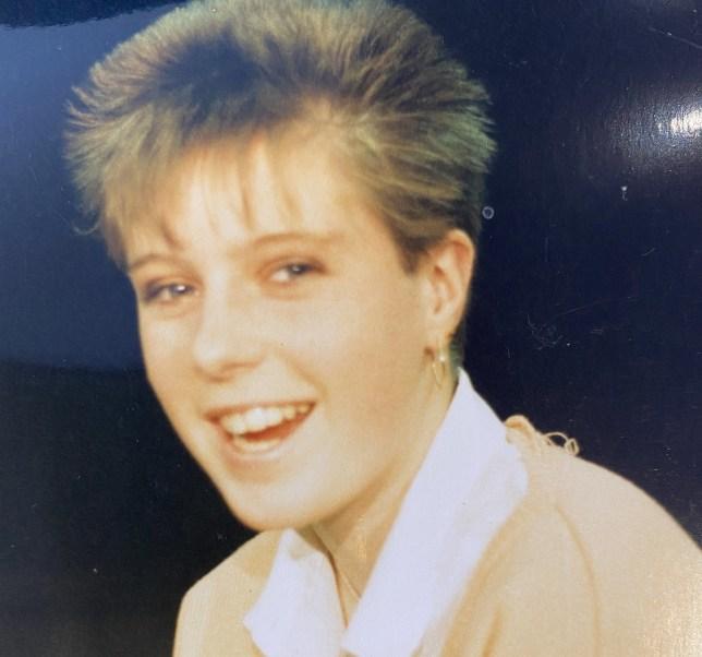 Sophia Rantzau as a teenager
