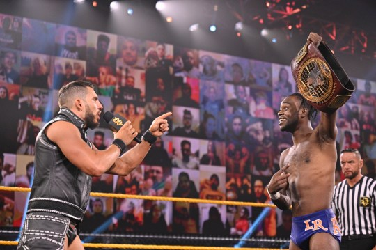 WWE and NXT superstars Johnny Gargano and Leon Ruff