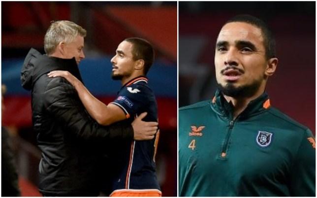 Rafael da Silva embraced Ole Gunnar Solskjaer after Manchester United's win at Old Trafford