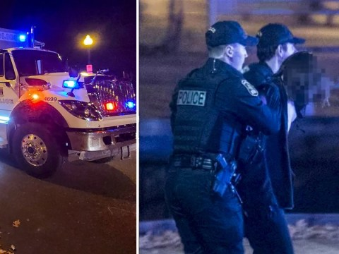 Two stabbed to death by Halloween knifeman 'in medieval clothing' in Quebec
