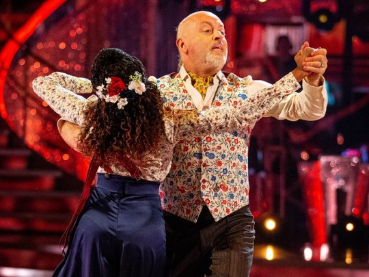 bill bailey on BBC's strictly come dancing