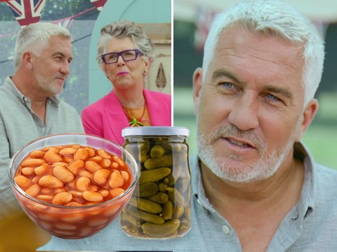 Great British Bake Off 2020: Paul Hollywood called out for telling Prue Leith to be 'open-minded' after gherkin-gate