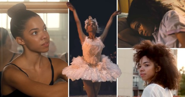 Ballerina Taïs Vinolo, 17, is the star of Amazon's 2020 Christmas advert (Picture: Amazon)