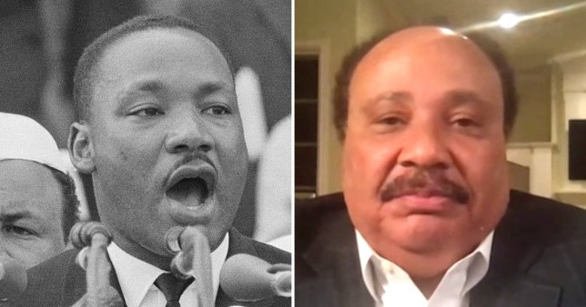 Martin Luther King III said he has still not 'achieved my father's dream' as he speaks about the presidential election.