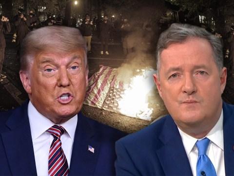 'Stop stoking the fires of civil war' Piers Morgan tells Donald Trump
