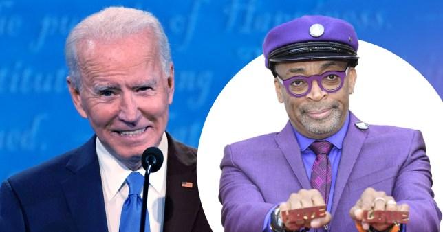 Spike Lee Joe Biden