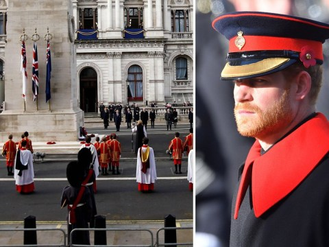 Prince Harry 'deeply saddened' after request to lay Cenotaph wreath 'refused'