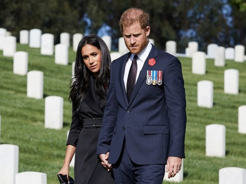 Harry and Meghan's Remembrance day cemetery visit 'was not a publicity stunt'