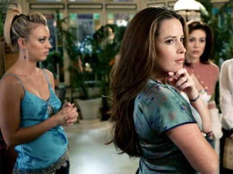 The Big Bang Theory's Kaley Cuoco reveals sweet moment she shared with Charmed co-star Alyssa Milano