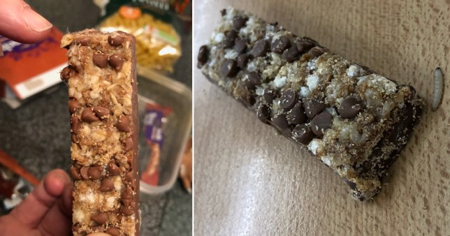 Woman finds maggots and eggs in Cadbury's bar while eating it