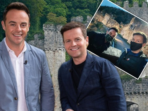 I'm A Celebrity 2020: Ant and Dec arrive at Gwrych Castle in face masks ahead of launch