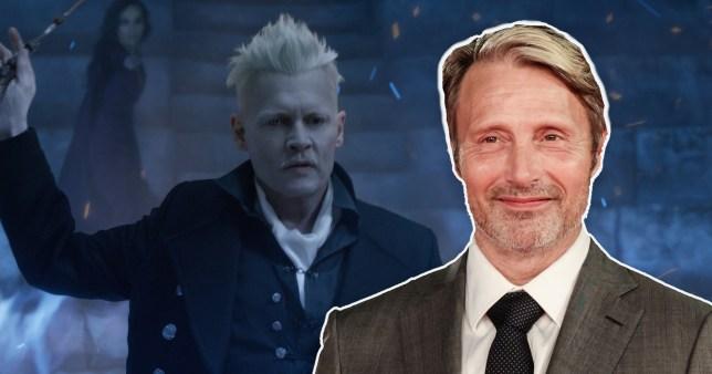 Mads Mikkelsen for Fantastic Beasts