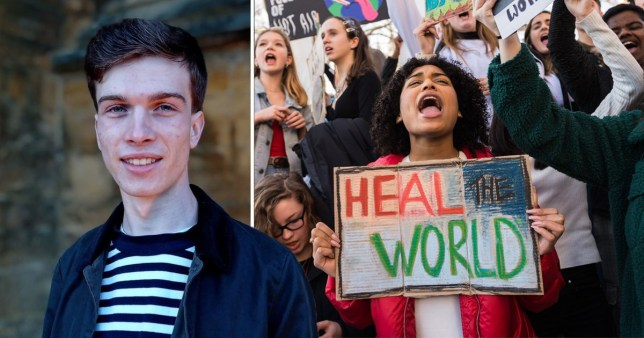 Josh Tregale and other young climate activists will be involved with Mock Cop26.