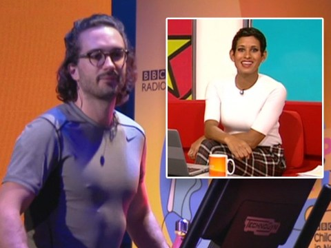 BBC Breakfast's Naga Munchetty cheers on Joe Wicks' 'pecker'  during 24-hour Children in Need challenge and viewers are very confused