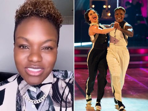 Strictly Come Dancing's Nicola Adams vows to 'keep breaking boundaries' in emotional message after exit