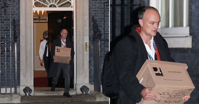 Dominic Cummings 'leaves Downing Street with immediate effect'