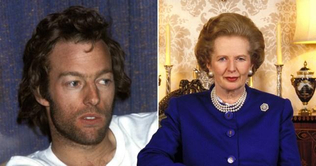 Mark Thatcher and Margaret Thatcher
