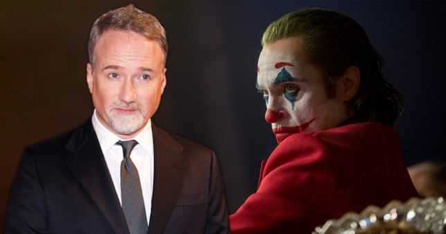 David Fincher with Joaquin Phoenix as the Joker