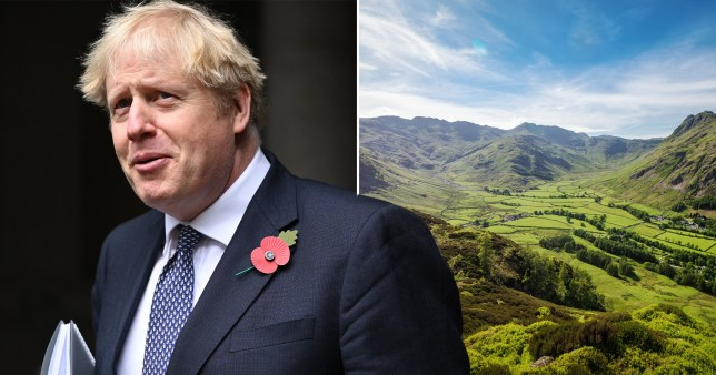 Boris Johnson has pledged £40 million to green spaces as part of the Government's plans to combat climate change.
