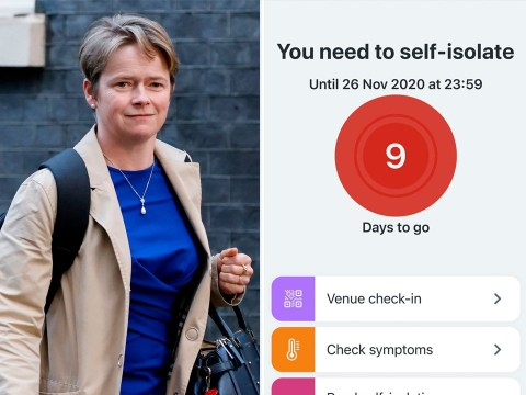 Head of NHS Test and Trace Dido Harding told to self-isolate by NHS app