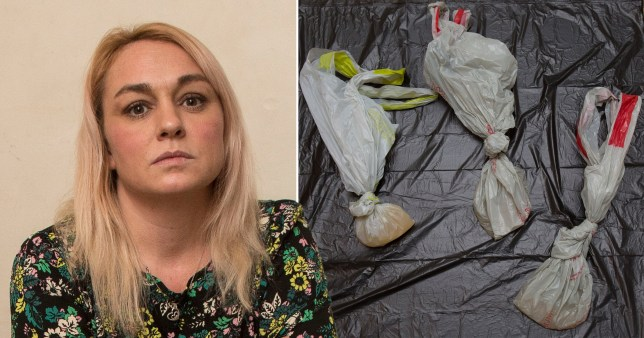 Mum delivered three bags of urine with Ocado food shop