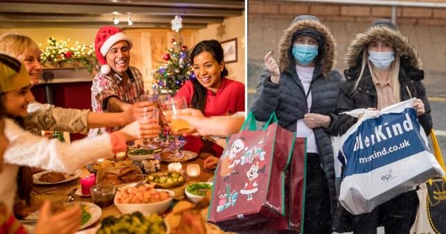 Composite image Christmas