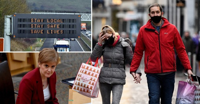 Composite image Scotland