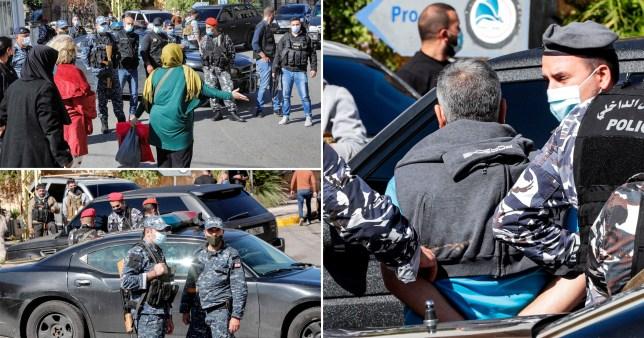 69 détenus se sont évadés d'une prison libanaise et cinq d'entre eux sont morts dans un accident de voiture alors qu'ils s'éloignaient de la police qui les poursuivait.