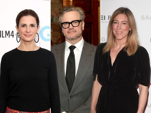 Who is Joanna Gosling as she is linked to Colin Firth, and who is his ex-wife Livia Giuggioli?