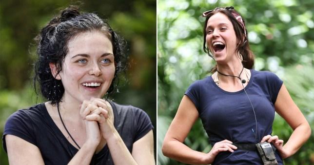 IAC Champs Vicky Pattison and Scarlett Moffatt