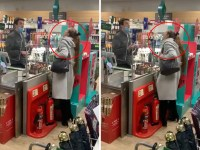 Woman spits at Waitrose worker