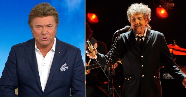 Bob Dylan incorrectly pronounced dead live on TV in shocking mishap