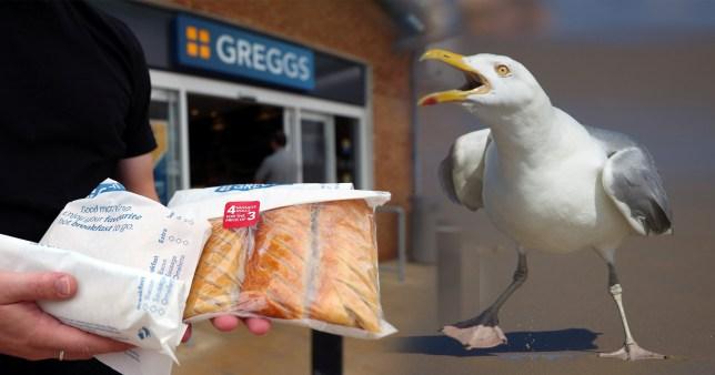 John Nicholson lost his temper over the Greggs snack