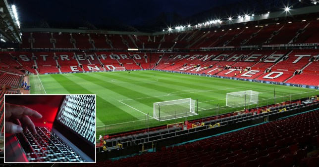 Man United being held to ransom by hackers who are thought to be demanding millions